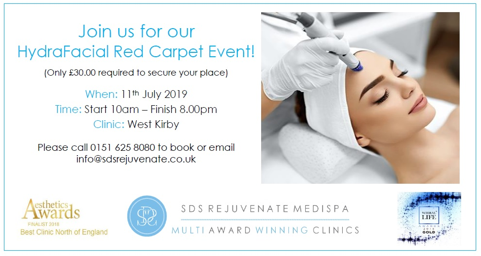 HydraFacial Red Carpet Event